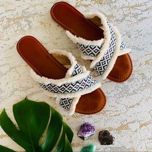 Universal Thread Boho Fringe Sandals